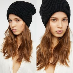 Free People All Day Everyday Slouchy Beanie NWT